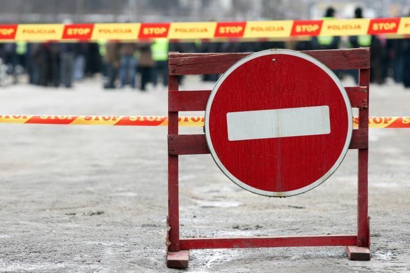 Vilniaus Bernardinų gatvėje bus draudžiamas eismas