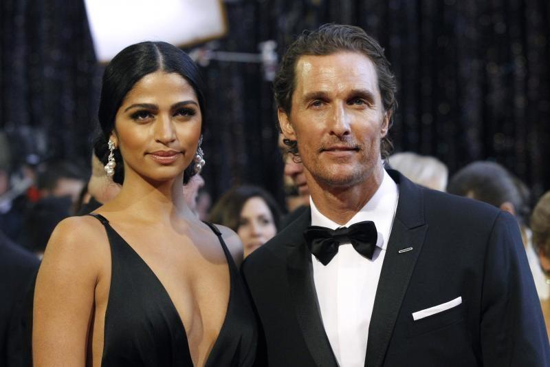 Matthew McConaughey vedė manekenę Camilą Alves