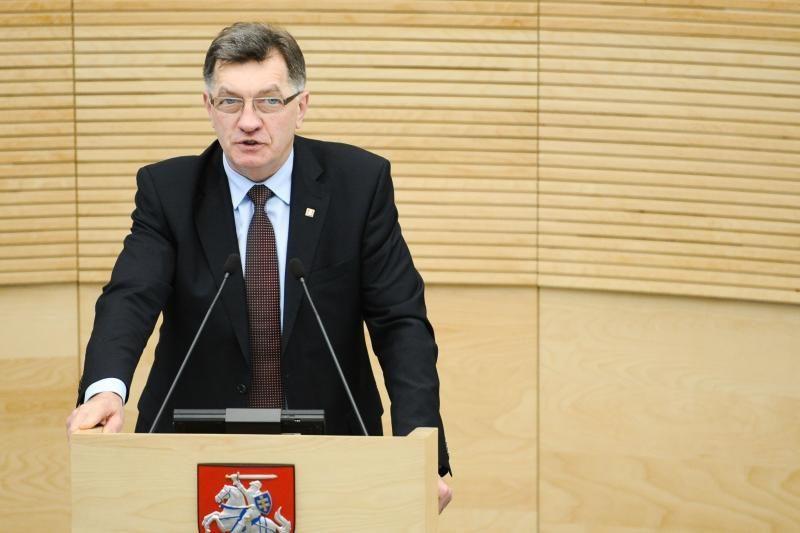 A. Butkevičius: demokratinius protestus reikia skirti nuo chuliganizmo