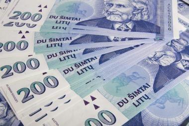 Grynųjų pinigų apyvartoje kovą sumažėjo 77 mln. litų iki 8,7 mlrd. litų
