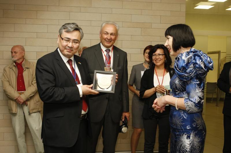 Kazachstaną ir Lietuvą domina bendri verslo projektai