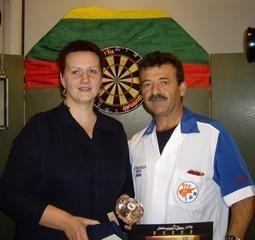 Lietuvos atvirąjį smiginio čempionatą laimėjo Kipro atstovas