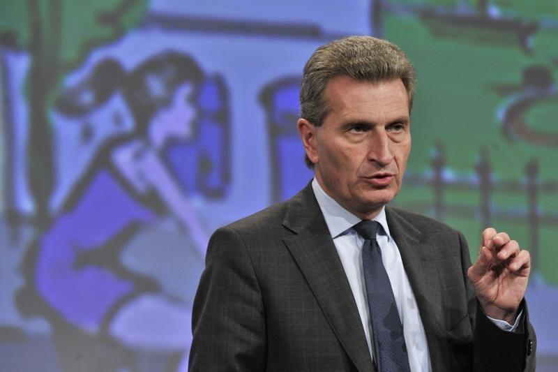 G. Oettingeris: Lietuva viena per maža AE projektui