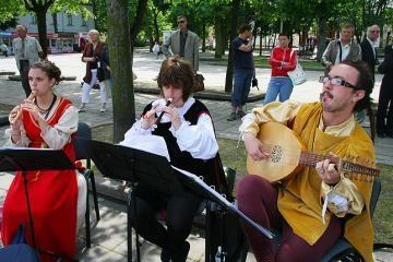 Šiandien Kauno Senamiestyje koncertuos italai