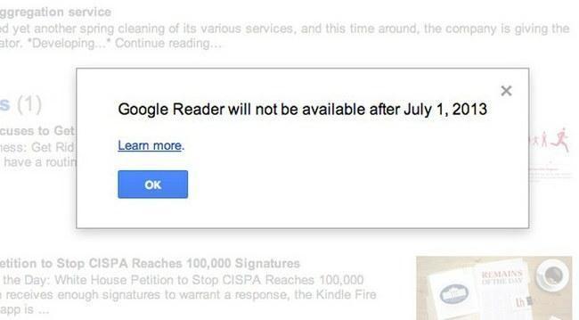 """""""Google"""" nuo liepos uždaro populiarią naujienų skaityklę"""