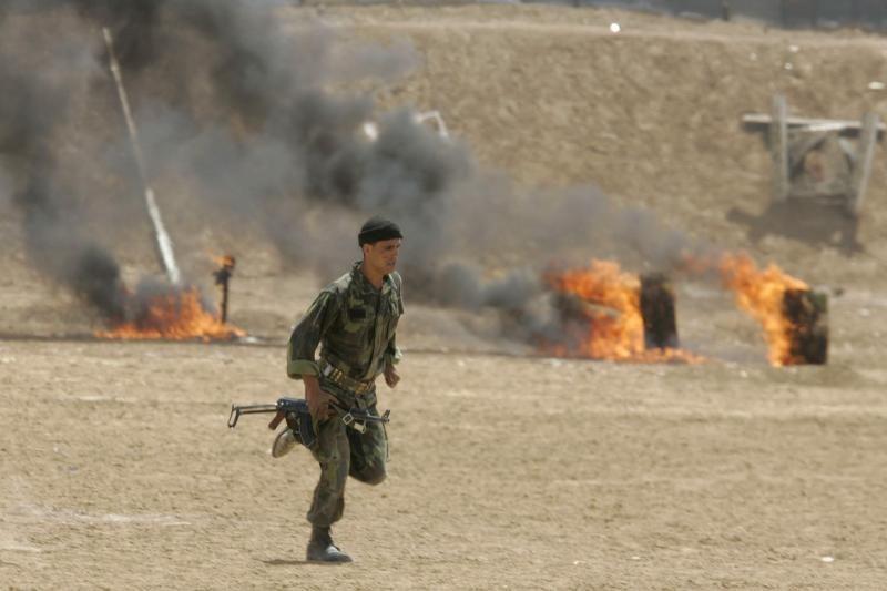 Išpuolis: Sacharos smėlynai nusidažė krauju