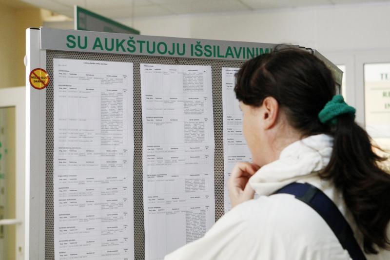 Nedarbas toliau auga: Lietuvoje registruota per 204 tūkst. bedarbių