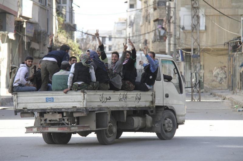 Sirijoje pagrobti keturi Italijos žurnalistai