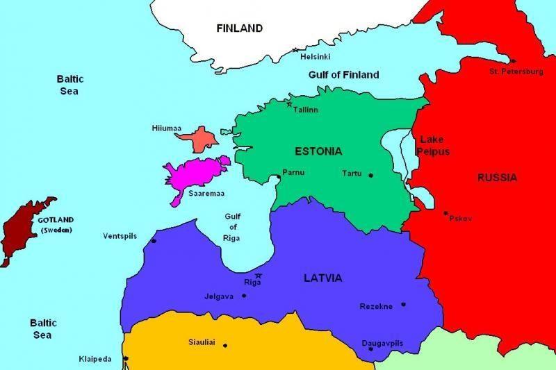 Skirtinga Baltijos šalių raida per 20 metų