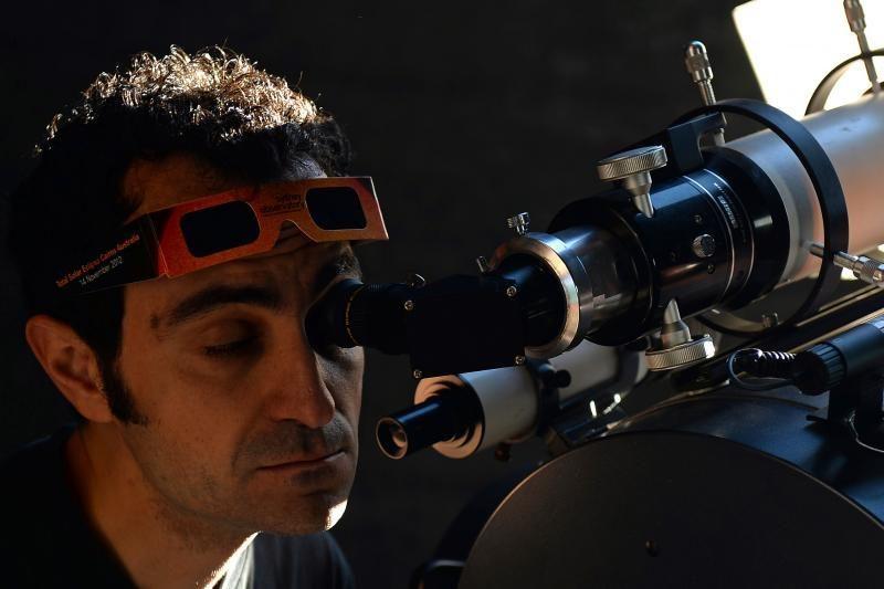 Australijoje stebėtas žiedinis Saulės užtemimas (foto)