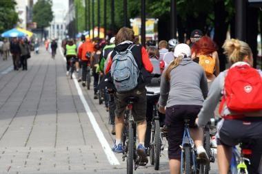Dviratininkų laukia Kauno dviračių maratonas