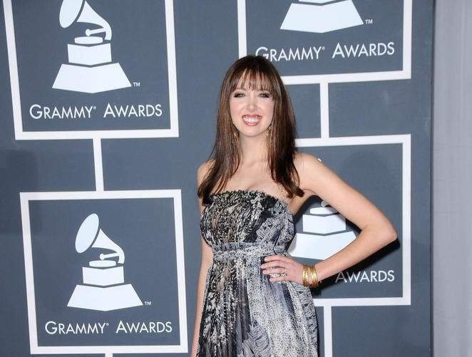 Dainininkė Francesca Battistelli susilaukė mergaitės