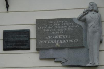 Ketinama statyti paminklą A.Šabaniauskui