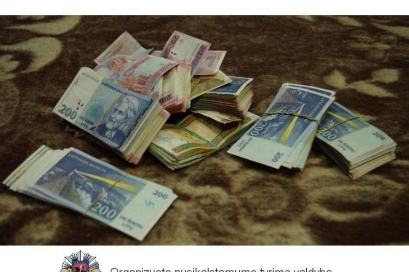 Vilniuje išardytas didmeninės prekybos narkotikais tinklas