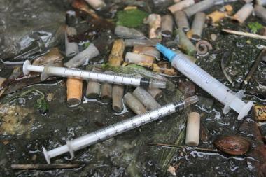 Škotijoje heroino vartotojai susirgo juodlige