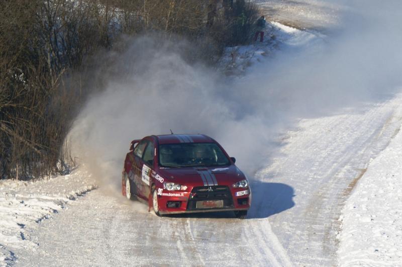 Žiemos ralyje Žemaitijoje – beveik pusšimtis ekipažų