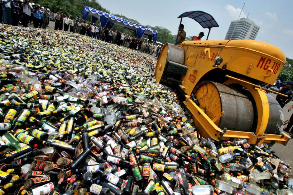 Kazokiškių rykštė – nerūšiuotų atliekų srautai