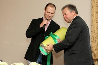 Žaliuosius metus vainikavo apdovanojimų ceremonija