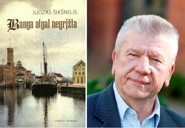 Rašytojas J.Šikšnelis pristatys romaną apie Klaipėdą
