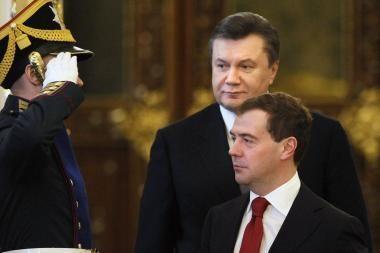 V.Janukovyčius atvyko į Maskvą