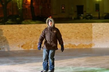 Klaipėdos merą pribloškė verslininkų pasiūlymas dėl čiuožyklos