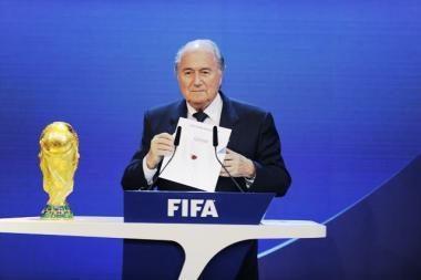 2018 m. pasaulio futbolo čempionatas vyks Rusijoje, o 2022 m. – Katare (papildyta)