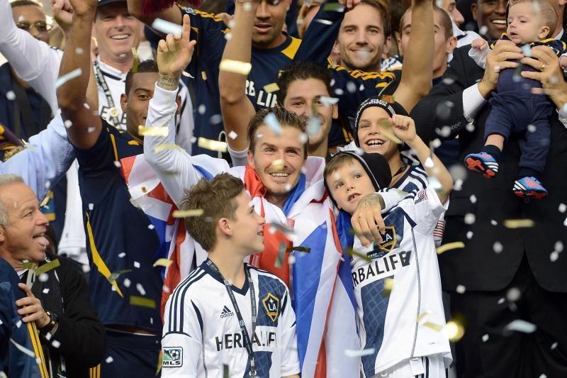 """D. Beckhamas grįžta į Italiją ir žais AC """"Milan"""" klube?"""