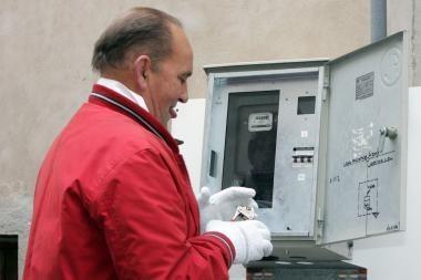 Elektriku apsimetęs vagis iš klaipėdietės pagrobė 15 tūkst. litų