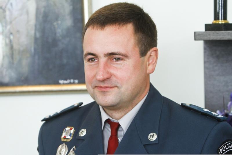 R. Požėlai suteiktas vyriausiojo komisaro laipsnis