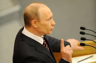 V.Putinas: naujo karo Šiaurės Kaukaze nebus