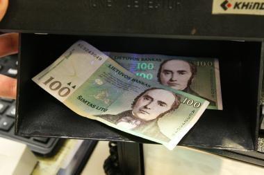 Lietuvos bankas papildys banknotų atsargas
