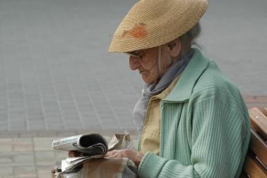 Lietuvos gyventojai gyvena vis ilgiau