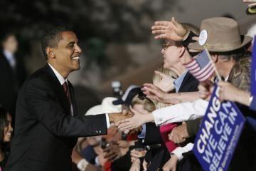 B.Obama tikisi laimėti varžybas dėl Baltųjų rūmų