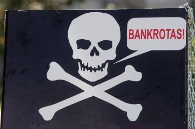 Bankai nepatenkinti Fizinių asmenų bankroto koncepcija