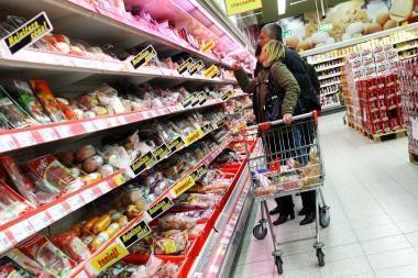 Prekybos centruose brangsta maisto produktai