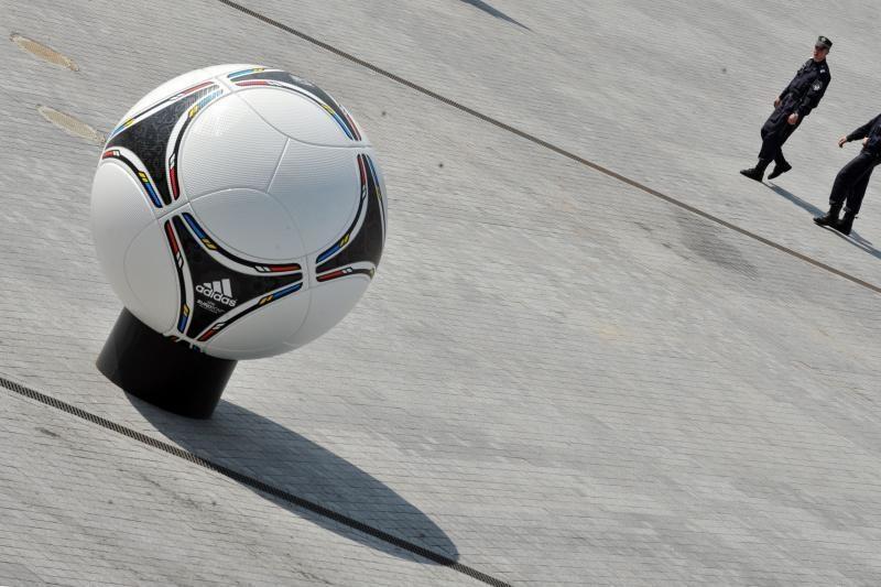 """Ukraina smerkia """"destruktyvų"""" Europos futbolo čempionato boikotą"""