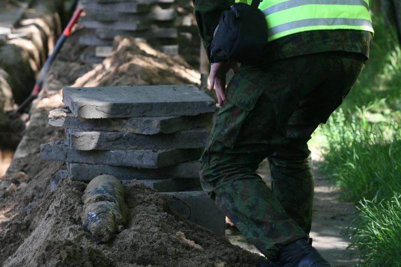 Kauno rajone, ardydamas sprogmenis, nukentėjo vyras