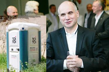 """V.Romanovas prašo įrengti tualetą """"Lietuvos ryto"""" žurnalistams"""