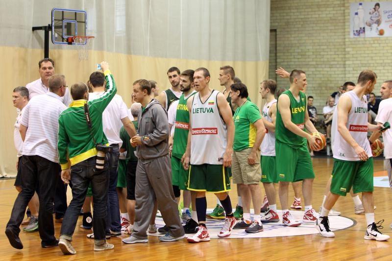 Lietuviai prieš olimpiadą sužais draugiškas rungtynes su Rusija