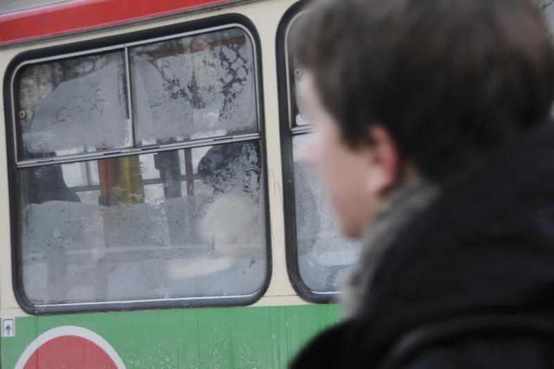 Šalčiai viešojo transporto darbo nesutrikdė (bet troleibusų sumažėjo)