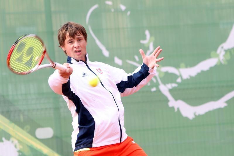 R.Berankiui turnyras baigėsi aštuntfinalyje