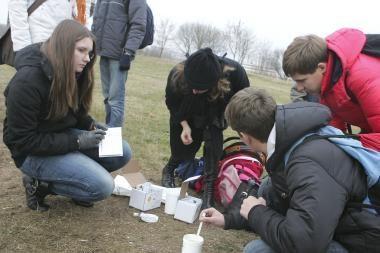 Mokiniai gamtininkai: Nemunas švaresnis už Nerį