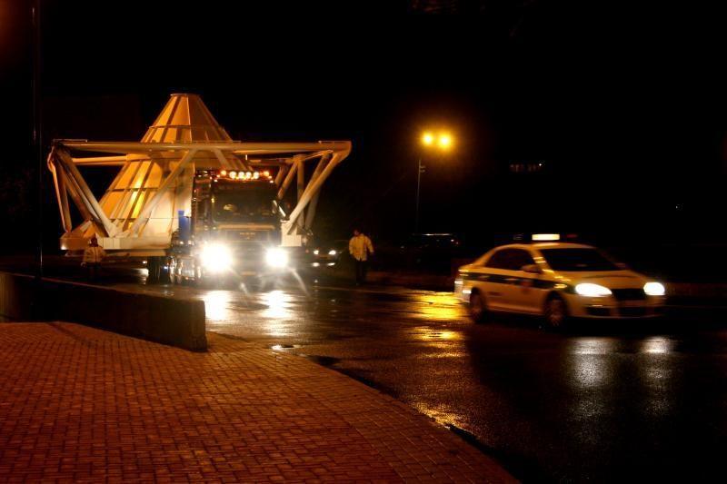 Į Klaipėdos uostą keliavo nestandartinis krovinys
