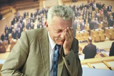 Socialdemokratai sako A.Salamakiną įkalbėję palaukti su atsistatydinimu