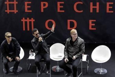 """""""Depeche Mode"""" gerbėjai nepaiso ekonominės krizės"""