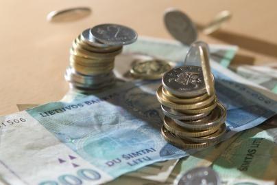 Apklausa: lito ir euro santykis iki euro įvedimo keisis