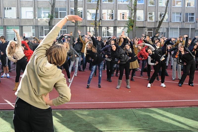 Vasarą Lietuvos gyventojai bus skatinami sportuoti