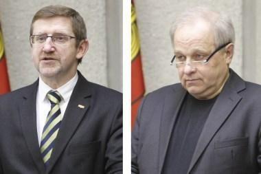 Klaipėdos vicemerai – A.Šulcas ir V.Čepas (papildyta)