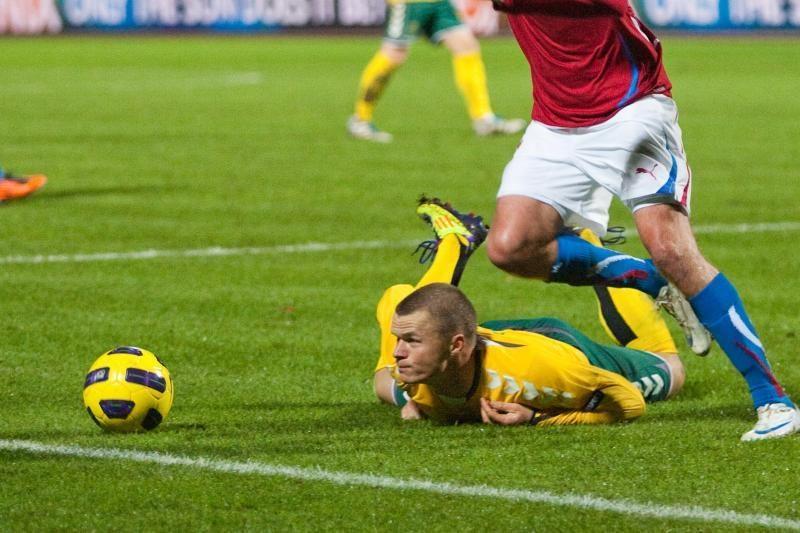 FIFA reitinge Lietuva vis dar 89-oje vietoje