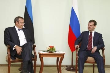 Estijos ir Rusijos lyderiai nerado bendros kalbos (papildyta)